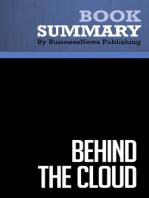 Behind the Cloud  Marc Benioff (BusinessNews Publishing Book Summary)