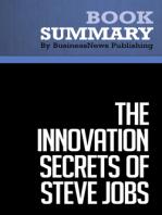 The Innovation Secrets of Steve Jobs  Carmine Gallo (BusinessNews Publishing Book Summary)
