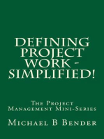 Defining Project Work - Simplified!