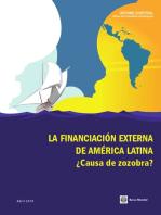 LAC Informe Semestral, Abril 2014: La Financiación Externa de América Latina y el Caribe: ¿Causa de Zozobra?