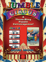 Jumble® Circus: A Three-Ring Puzzle Extravaganza!