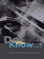 """Do You Know...?"": The Jazz Repertoire in Action"