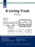 8 Living Trust Forms
