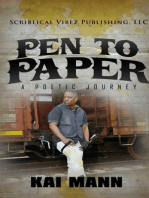 Pen To Paper ~ A Poetic Journey