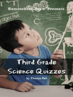 Third Grade Science Quizzes