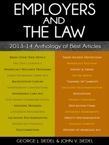 Employers and the Law: 2013–14 Anthology of Best Articles