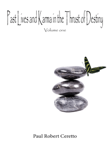 Past Lives and Karma in the Thrust of Destiny