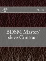 BDSM Master/slave Contract