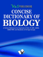 Concise Dictionary Of Biology