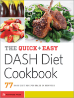 The Quick & Easy DASH Diet Cookbook