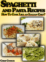 Spaghetti and Pasta Recipes