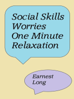 Social Skills Worries One Minute Relaxation