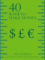 40 Ways To Make Money