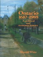 Ontario 1610-1985