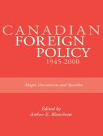 Canadian Foreign Policy