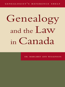 Genealogy and the Law in Canada