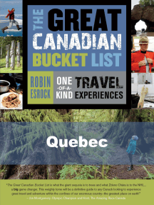 The Great Canadian Bucket List — Quebec
