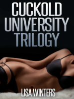 Cuckold University Trilogy (Feminization Chastity Erotica)
