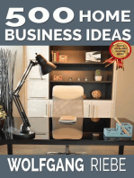 500 Home Business Ideas