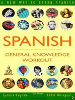 Spanish: General Knowledge Workout #2: SPANISH - GENERAL KNOWLEDGE WORKOUT, #2