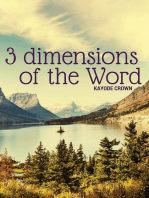 3 Dimensions of the Word