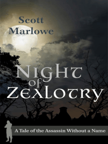 Night of Zealotry (A Tale of the Assassin Without a Name #3): Assassin Without a Name, #3