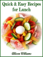 Quick & Easy Recipes for Lunch
