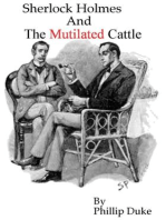 Sherlock Holmes and the Mutilated Cattle