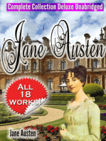 Jane Austen Complete Collection Deluxe Unabridged (annotated)