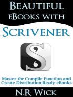 Beautiful eBooks With Scrivener