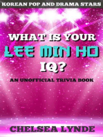 What is Your Lee Min Ho IQ?