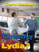 Who is your Timothy or Lydia?