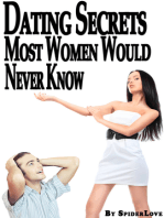 Dating Secrets Most Women Would Never Know