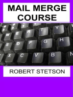 MAIL MERGE COURSE