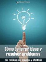 Cómo generar ideas y resolver problemas