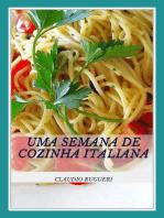 Uma Semana De Cozinha Italiana