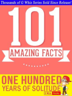 One Hundred Years of Solitude - 101 Amazing Facts You Didn't Know