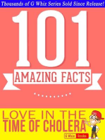 Love In The Time Of Cholera - 101 Amazing Facts You Didn't Know: GWhizBooks.com