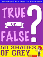 Fifty Shades of Grey - True or False?