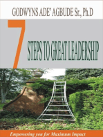 Seven Steps to Great Leadership