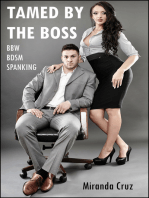 Tamed by the Boss (BBW, BDSM, Spanking)