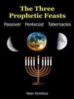 The Three Prophetic Feasts