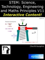 STEM: Science, Technology, Engineering and Maths Principles V11