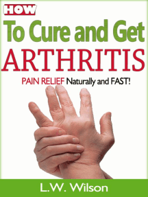 how to cure arthritis pain naturally