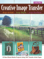 Creative Image Transfer—Any Artist, Any Style, Any Surface