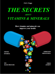 The Secrets About Vitamins and Minerals