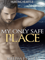 My Only Safe Place (Hunting Hearts, Book 4) (Werewolf Romance - Paranormal Romance)