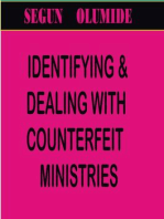 IDENTIFYING COUNTERFEIT MINISTRIES