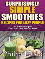 Surprisingly Simple Smoothies