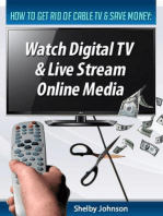 How to Get Rid of Cable TV & Save Money: Watch Digital TV & Live Stream Online Media